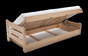 Dřevěná postel Relax 90