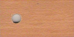 Moření buk  - Barová židle z masivu H 34/2 Kurtis