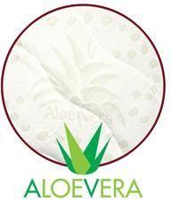 AloeVera Kvalitní potah, který obsahuje výtažek známé rostliny Aloe Vera barbaensis z rodu liliovitých. Má pozitivní vliv na pokožku lidského těla, působí antibakteriálně. Potah, prošitý třízónovým způsobem, je příjemný na dotek a standardně vetkané logo zaručuje nezaměnitelnost výrobku. - Dřevočal matrace Nora 1 + 1