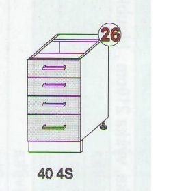 Skříňky ke kuchyňské lince ANTON LUX
