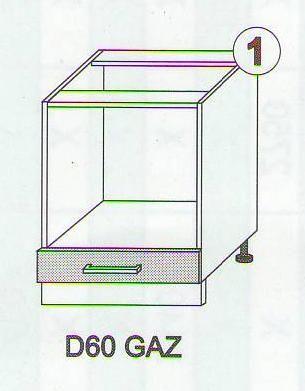 Skříňky ke kuchyňské lince SCASI