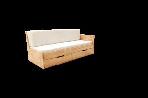 Rozkládací postel DUO B - Rustikal Gabi