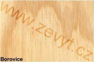 Borovice - lakované dřevo