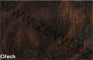 Ořech  - Psací stůl K112 z masivu