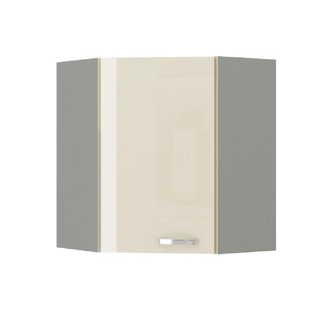 Skříňka horní, krém vysoký lesk, PRADO 60/60 N G-72