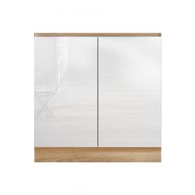 LINE WHITE D80 ZL DREZOVA BIELA HG /DUB SONOMA