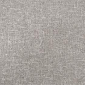 Taburet s úložným prostorem, šedá látka, SAMIR