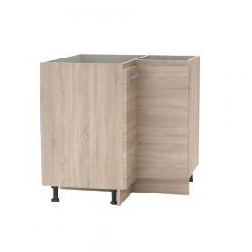 Spodní rohová skříňka, dub sonoma, NOPL-061-RS