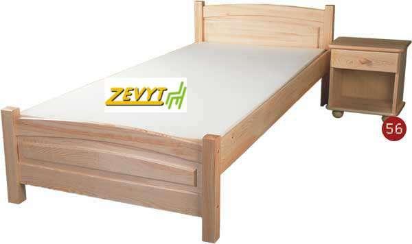 Postel dřevěná Ted K64