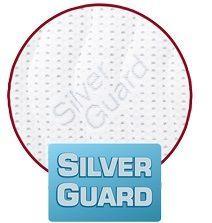 SilverGuard SilverGuard je jedinečná technologie, která zaručuje trvalou svěžest a hygienu během spánku. Eliminuje bakterie způsobující zápach a chrání před jejich usazováním. Ochrana je trvalá i po častém praní a čištění. Při kontaktu s pokožkou zachovává její přirozenou rovnováhu. Tento potah obsahuje přírodní viskózové vlákno, které ve spojení s moderním designem dodává textilii luxusní charakter. Zaručuje vám absolutní čistotu a pohodlí. SilverGuard® úprava: Využívá stříbro jako jeden z nejstarších a nejznámějších způsobů ochrany před houbami a bakteriemi. Díky působení stříbrných iontů chrání textilii před mikroorganismy a zabraňuje jejich rozvoji přírodní cestou. SilverGuard® zajišťuje konstantní svěžest a hygienu lůžka, vysokou odolnost proti oděru a žmolkování. Potah je pratelný na 60°C. Složení potahu: 35% VISKÓZA, 2% POLYAMID, 63% POLYESTER. - Dřevočal matrace Nora 1 + 1
