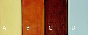 Barva nožek D  - Čalouněná postel FACILE
