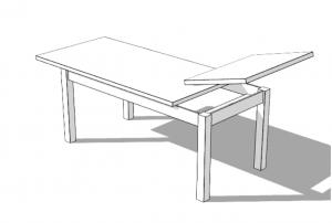 Rozložení stolu ST-62